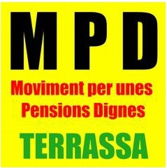 Concentració MPD Moviment de les Pensions Dignes