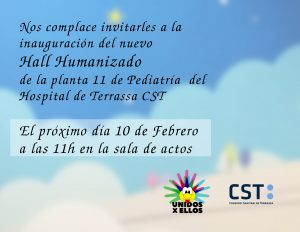 Inauguració Hall Humanizado Planta 11 Pediatria del Hospital de Terrassa CST